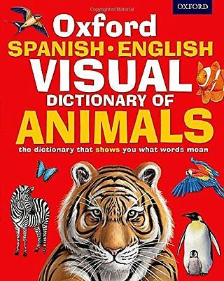 Oxford Spanish-English Visual Dictiona by Oxford Dictionaries New Paperback Book