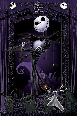 NEW * IT'S JACK *  NIGHTMARE BEFORE CHRISTMAS  MAXI POSTER 62cm X 91cm  ...no1