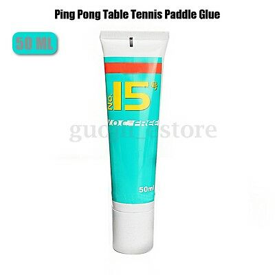 50ml Table Tennis Water-solubility Bond Organic Water Paddle Glue+ 2 Sponge