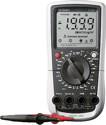 VOLTCRAFT Multimeter digital VC-250 DMM