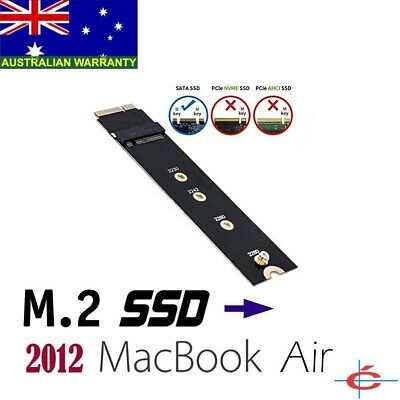 B Key M.2 / NGFF SSD to 2012 MacBook Air A1465 A1466 Adapter Converter 4 Length