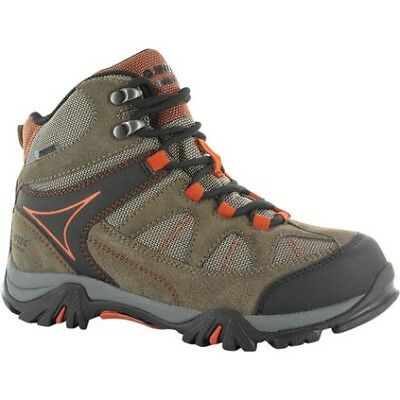 Hi-Tec Altitude Lite Hiking Boots - Kids, Smokey Brn/Red, J13