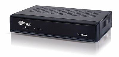 VBOX TV Gateway TV Streaming Server DVB-C/T2 to IP 4K UHD Aufnahme auf USB/NAS