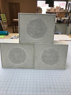 "3 Vintage Micro Utah Gap 7 1/2"" Aluminum Speakers"