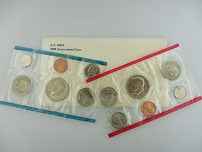 1979 United States Us Mint Uncirculated Coin P & D Mint Set