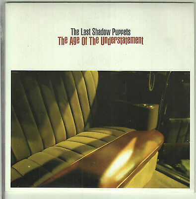 "THE LAST SHADOW PUPPETS - The Age Of The Understatement - 2008 UK 2-trk 7"" vinyl"