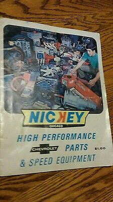 Nickey Chevrolet Performance & Speed Catalog Featuring the 69 Chevrolet Camaro