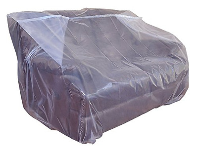 Furniture cover plastic bag for moving and storage (Loveseat)