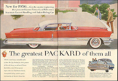 1956 Vintage ad for '56 Packard`retro car Studebaker-Parkard Corp.(103116)