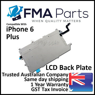 iPhone 6 Plus LCD Metal Back Plate Home Button Flex Cable Shield Replacement