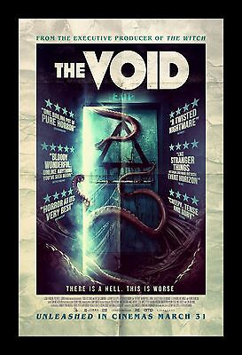 THE VOID  framed movie poster 11x17 Quality Wood Frame