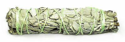 """4"""" CALIFORNIA WHITE SAGE BUNDLE (Smudge Stick) w/Card - Cleansing, Purification"""