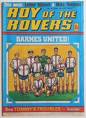 ROY OF THE ROVERS Comic - 29th September 1979