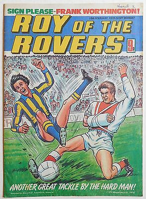 ROY OF THE ROVERS Comic - 10th February 1979