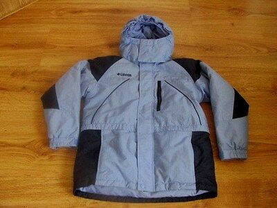 Columbia Boy/Girl Down insulated Ski Snowboard Hooded Jacket 14/16 L