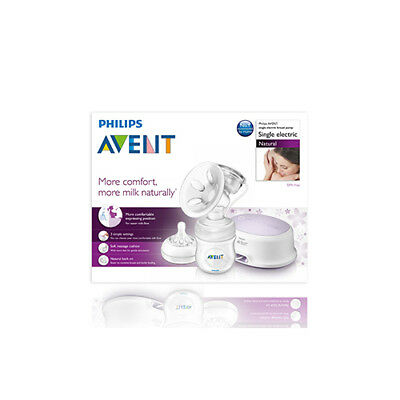 NEW Avent Natural Comfort Breast Pump Electronic BPA Free Baby Feeding