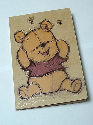 NEW Winnie The Pooh Notebook Journal Diary Lined + Graph Paper Adventure