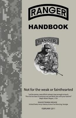 Ranger Handbook Not For The Weak or Fainthearted Military United States Army New
