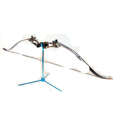 Portable Foldable Compound Bow & Recurve Bow Stand Tripod Rack Shelf Aluminum