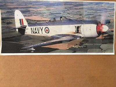 """BRAND NEW SEA FURY  Wing Span Vailly Aviation Model Aircraft Kit 90"""" ( 2286mm )"""