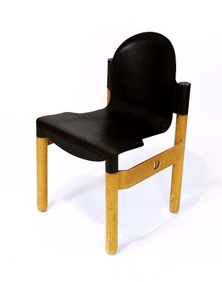 1 OF 100  VINTAGE 1980's THONET FLEX 2000 STACKING CHAIRS BY GERD LANGE