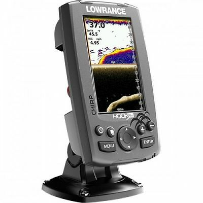 Lowrance Fishfinder Hook-4X with HDI 83-200 kHz Transducer #62320191