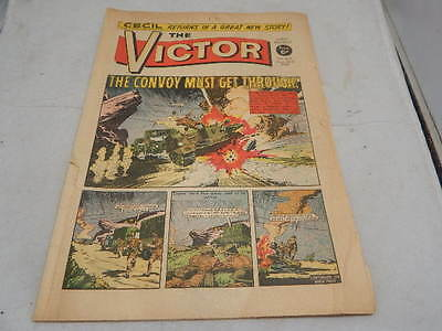 THE VICTOR COMIC No 444 ~ Aug 23rd 1969 ~ The Convoy Must Get Through!