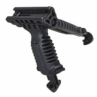 Picatinny Rail Adjustable Tactical Vertical Fore Hand Grip Bipod Crazy Sale