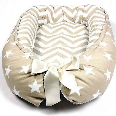 Baby Nest Beige Babynest Newborn Baby Shower Gift Baby Boy Baby Girl Sleep New