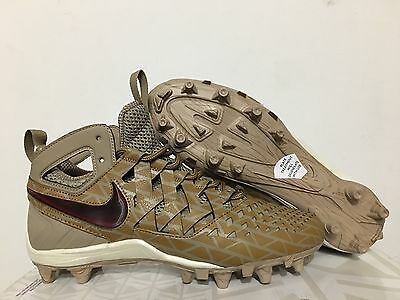 Nike Huarache V LAX Elite Creators Game Lacrosse Cleats Khaki Brown (807120-200)