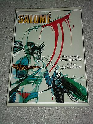 Salome Graphic Novel PB, 1986, Oscar Wilde, David Shenton, See Others & Combine