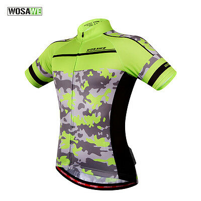 Men Bicycle Clothing Short Sleeve T-Shirts Cycling Jersey Tops Hot-selling S-2XL