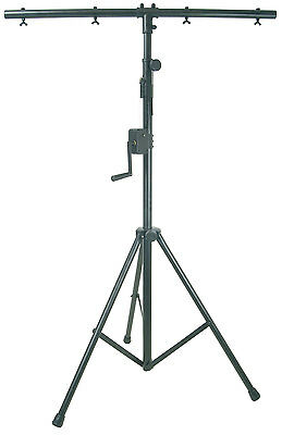 QTX Lighting stand with winch - 3m [180.543UK] Lighting Stands