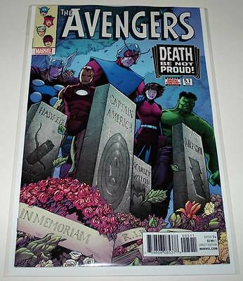 The AVENGERS # 5.1 Marvel Comic May 2017 NM  SILVER AGE VARIANT COVER EDITION