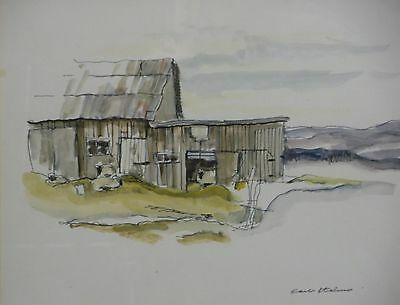 Barn study by Carlo Italiano