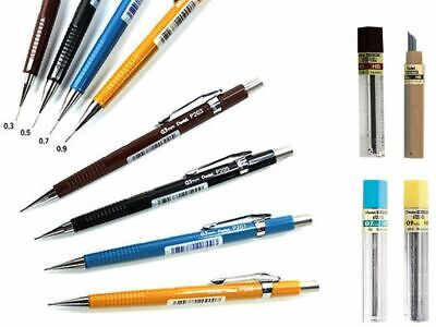 Pentel Mechanical Pencil Automatic Drafting With Eraser/Leads or HB Lead Refills