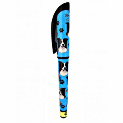 Border Collie Dog Lovers Pen Gel Refillable Gift Puppy E & S Pets Many Breeds
