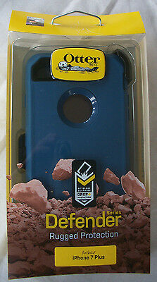 OTTERBOX Defender Series RUGGED PROTECTION Case for iPhone 7 Plus BLUE & BLACK