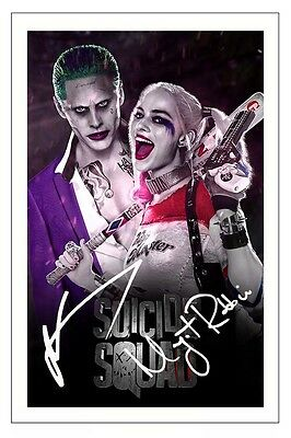 4580 JARED LETO Signed A4 Size Photo Preprint US Actor Autograph JOKER HOT NEW