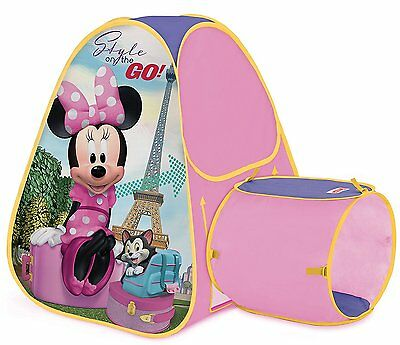 Playhut Minnie Mouse Hide About Playhouse Easy Set Up Tunnel Port for Crawling