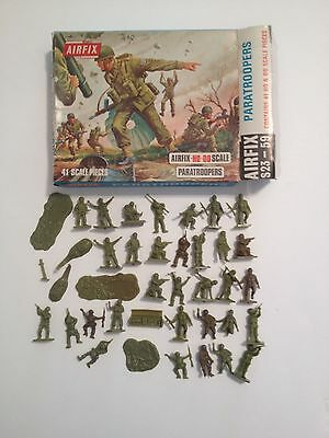 Airfix 01723 Paratroopers Serie Q.complet40 Su 41 Pezzi Con Scatola Scala H0