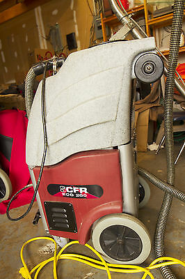 CFR ECO 200 commercial carpet cleaner extractor
