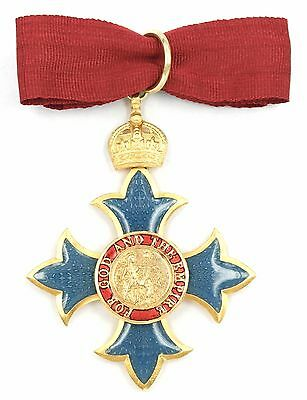 Commander Of The Most Excellent Order Of The British Empire (Cbe)
