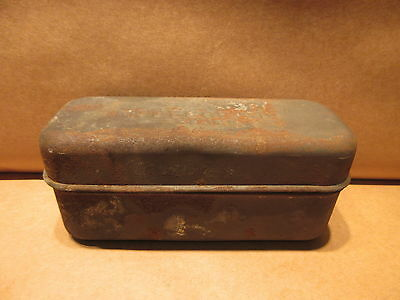 U.S. Army USMC Model of 1916 World War 1 Dated 1918 Mess Tin Meat/Bacon Can