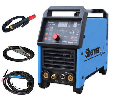 Sherman DIGITIG 200DC TIG HF Lift MMA ARC Digital IGBT Welder Inverter VRD 2T4T