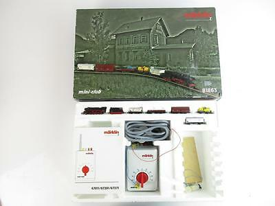 Marklin 81863 Z Gauge Large Freight Train Starter Set