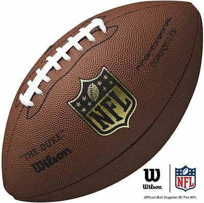 Wilson Duke Wtf1825Xb American Football Inflated Ready To Use Full Size Official