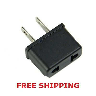 FREE SHIPPING! EUROPE to USA travel adapter. EU-US socket reisstekker converter