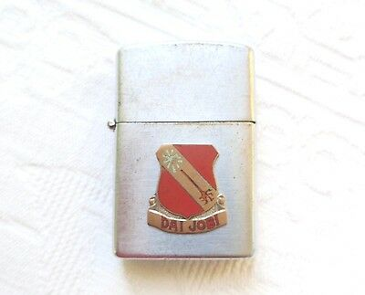 Korean War Officer's Lighter - Dai Jobi - C Company 839Th, Engr, Avn, Bn, Korea