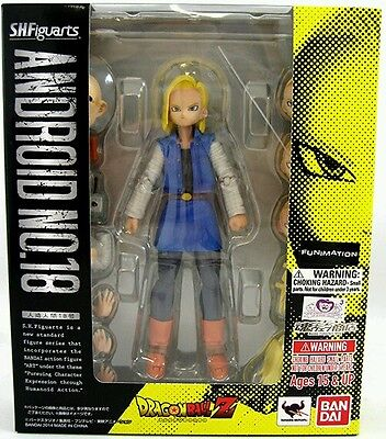 S.H. Figuarts Dragon Ball Z Android 18 action figure Tamashii Exclusive Bandai!